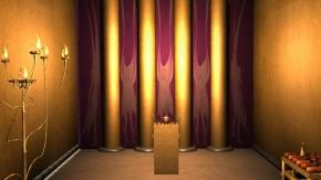 Inner Curtain Parochet Tabernacle Mishkan 1